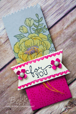 Birthday Blooms Treat Pouch - get all the info here