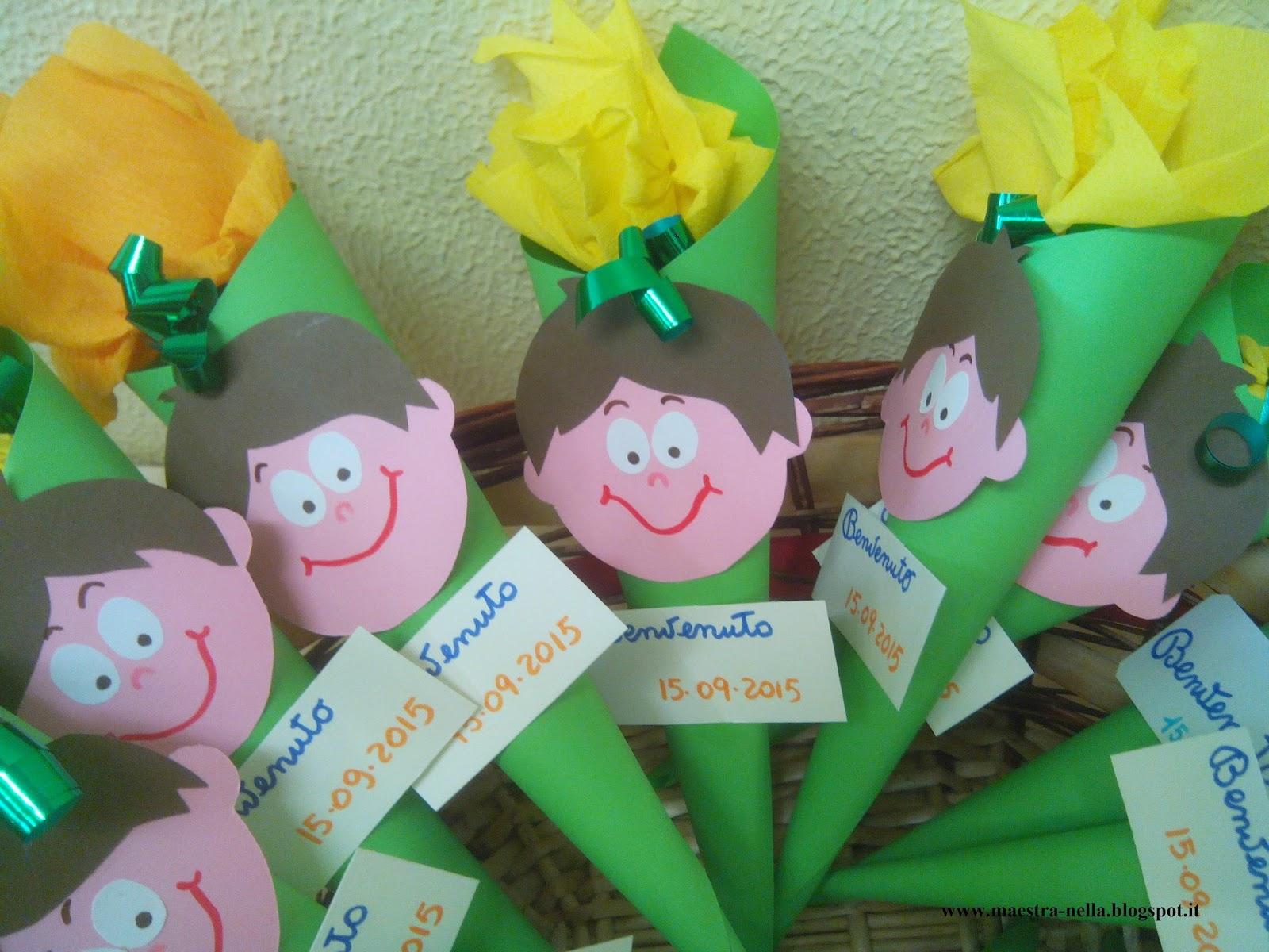 Maestra nella regalino di benvenuto for Idee per l accoglienza nella scuola dell infanzia