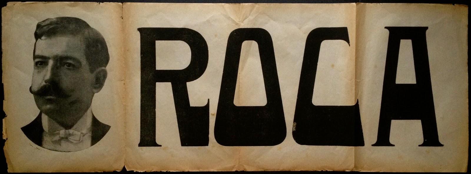 Anunci d'un espectacle de Francesc Roca (principis del segle XX)