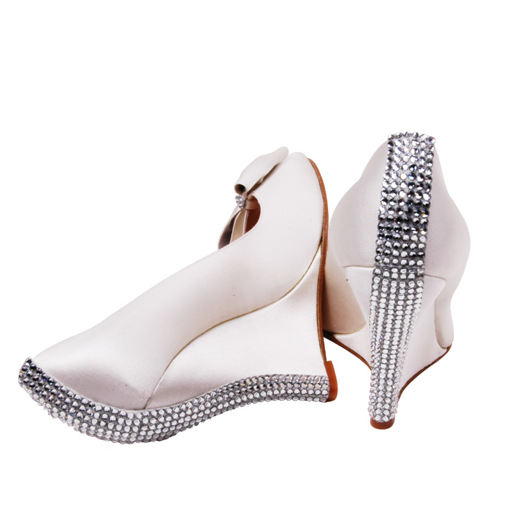 bridal shoes wedge all about bridal house bridal dresses
