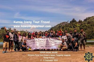 wisatawan dieng plateau