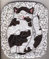 Happy Cat Potholder Pattern