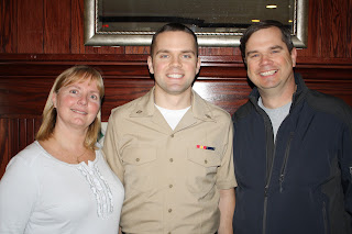 Andrew in his Navy Service Uniform, also known as his