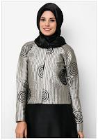 Contoh Gambar Foto Model Kemeja Wanita Muslim