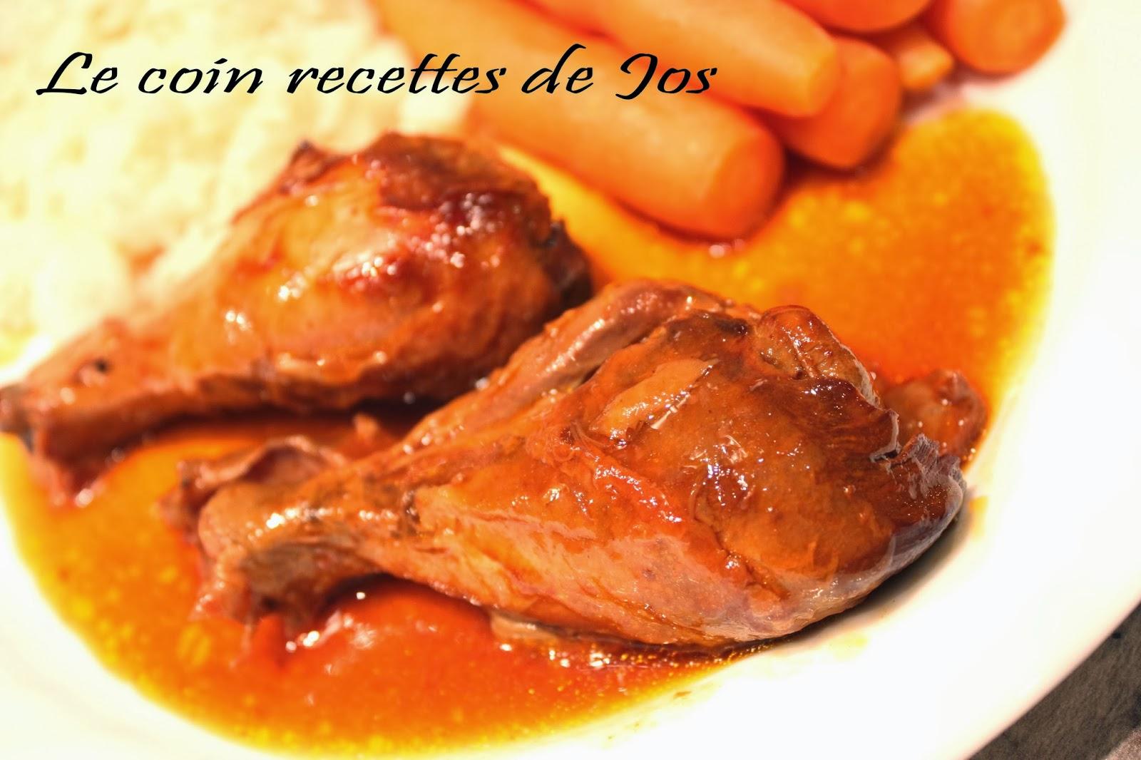 Le Coin Recettes De Jos Pilons De Poulet En Sauce Bbq A La Mijoteuse