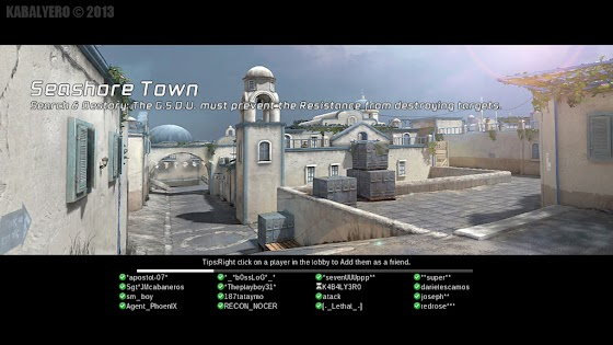 De_Dust2 Clone, Seashore Town in Assault Fire