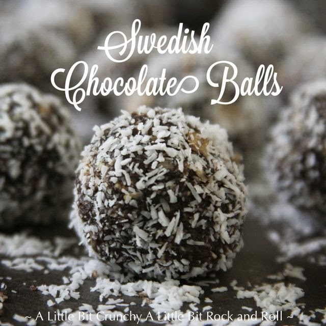 how to make swedish chocolate balls