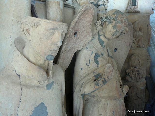 Reims - cathédrale - sculpture