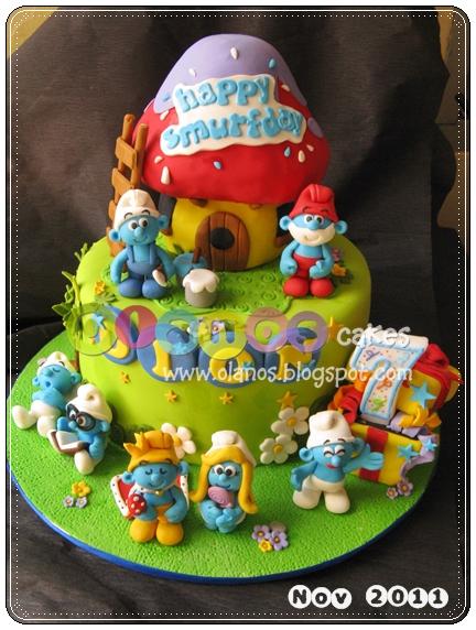 Smurf Birthday Cake Recipe