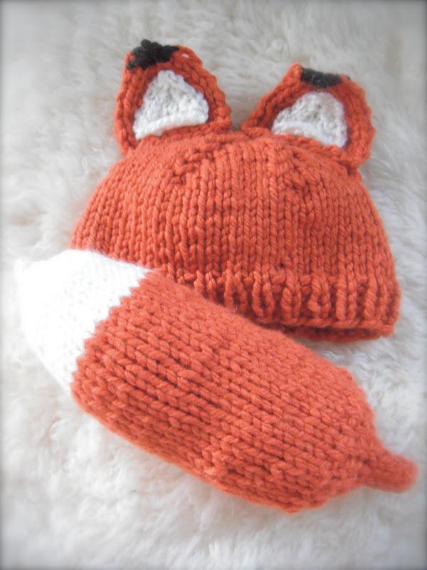 Honey Nutbrowns Knitting Woodland Fox Baby