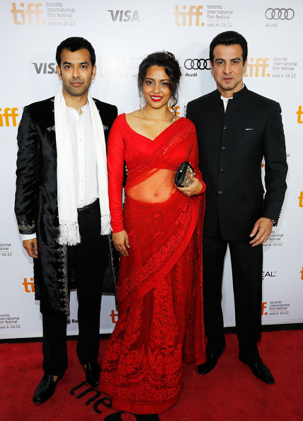Shahana Goswani red hot saree Toronto