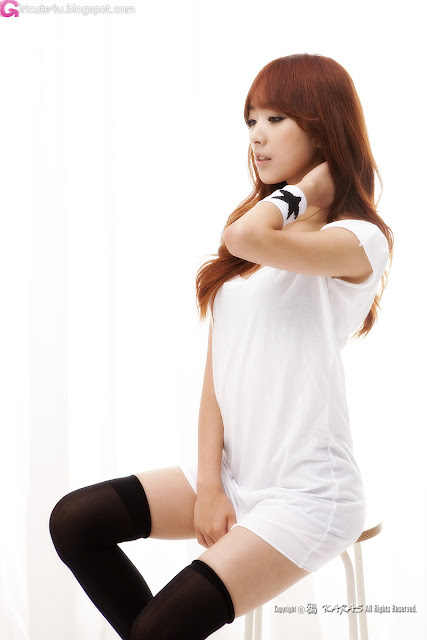 3 Minah in Black and White-Very cute asian girl - girlcute4u.blogspot.com