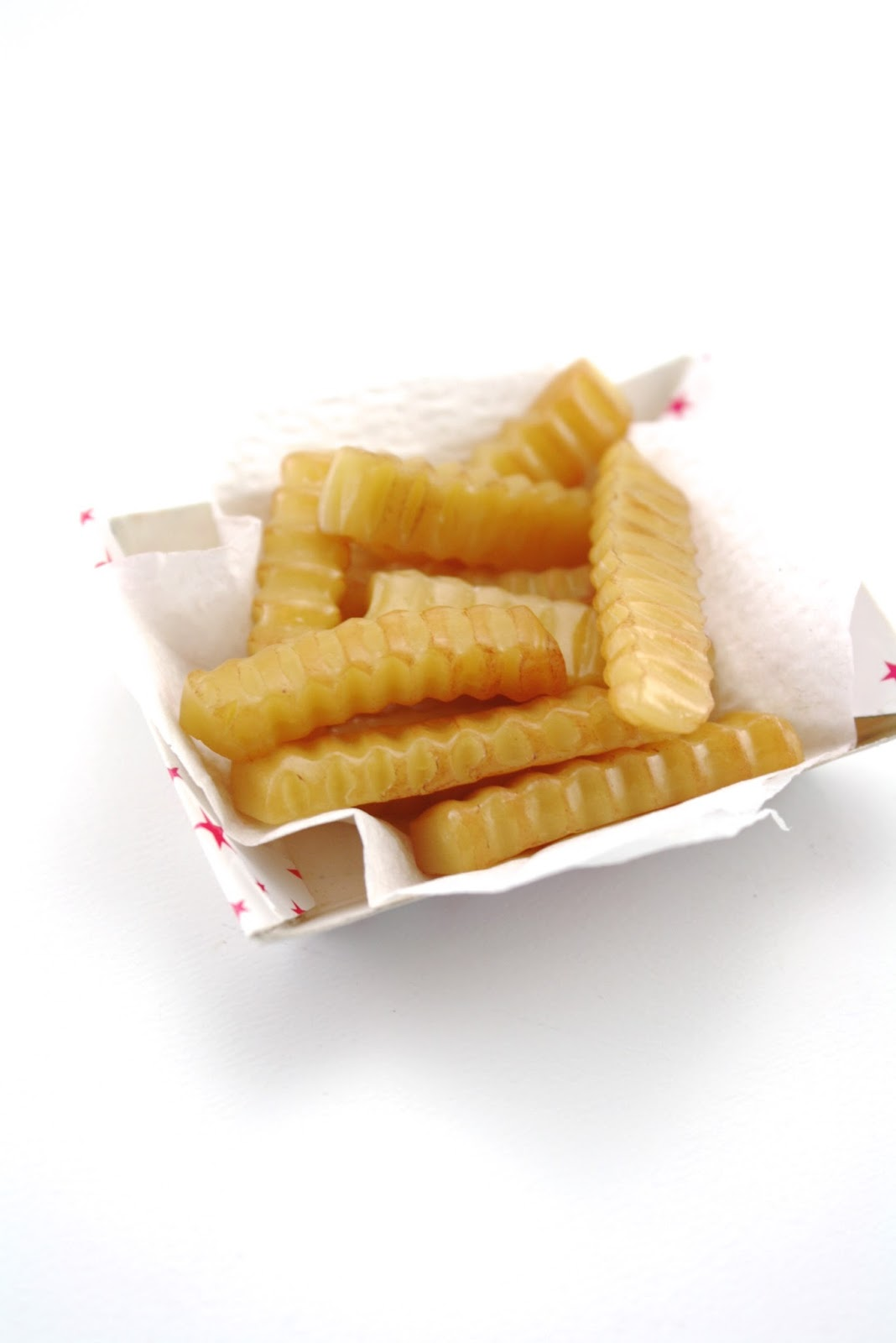"""American Girl crinkle cut french fries from MaryEllen/'s diner set 18/"""" doll NEW"""
