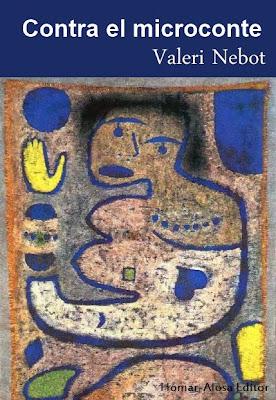Contra el microconte (Valeri Nebot) - Homar Alosa Editor