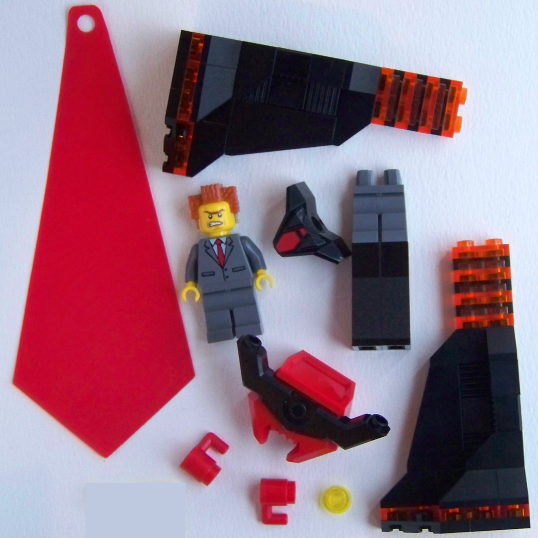 LEGO Lord Business Evil Lair 70809 Minifigure Review
