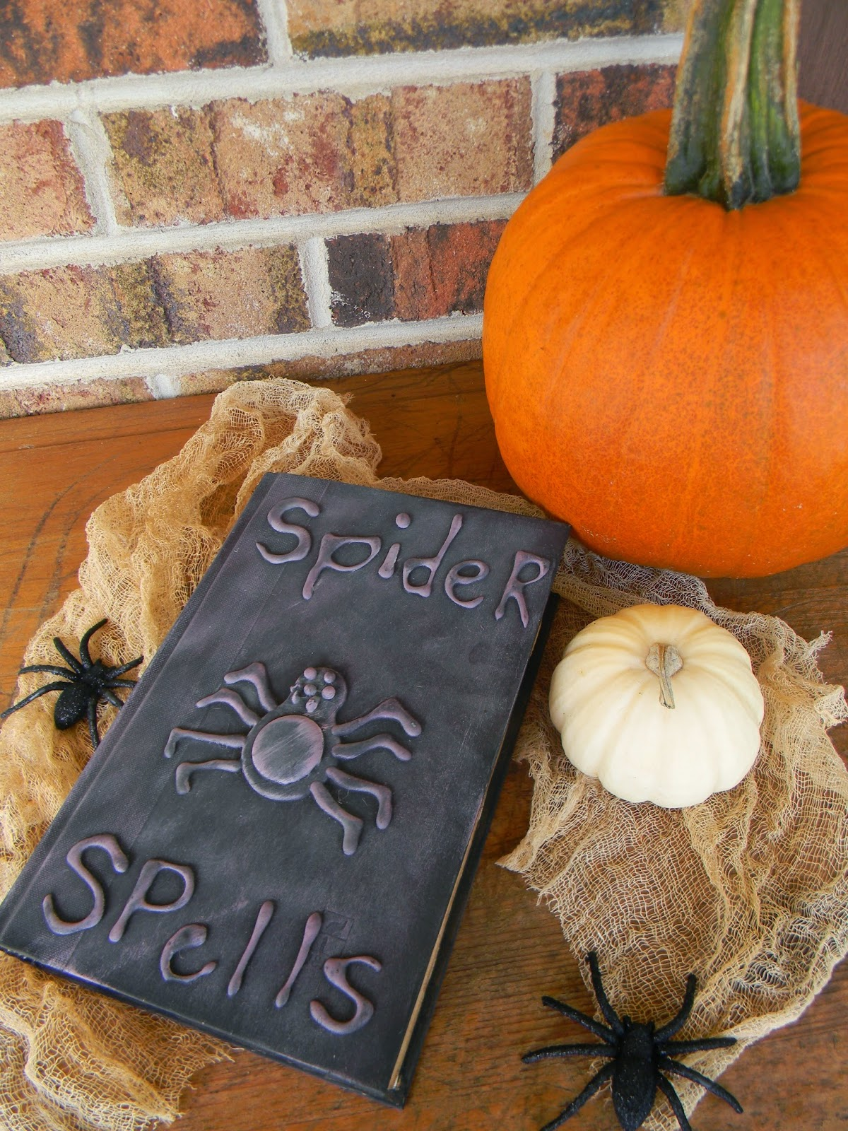 Spider Spell Book from Artistic Endeavors  | Halloween Favorites at www.andersonandgrant.com