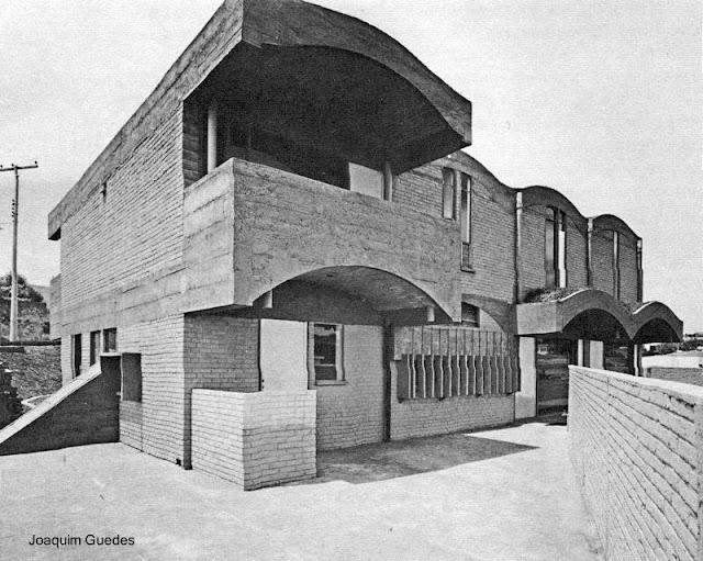 Casa del Brutalismo en Brasil año 1963