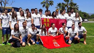 Natación UCAM Fuensanta Palma Mallorca