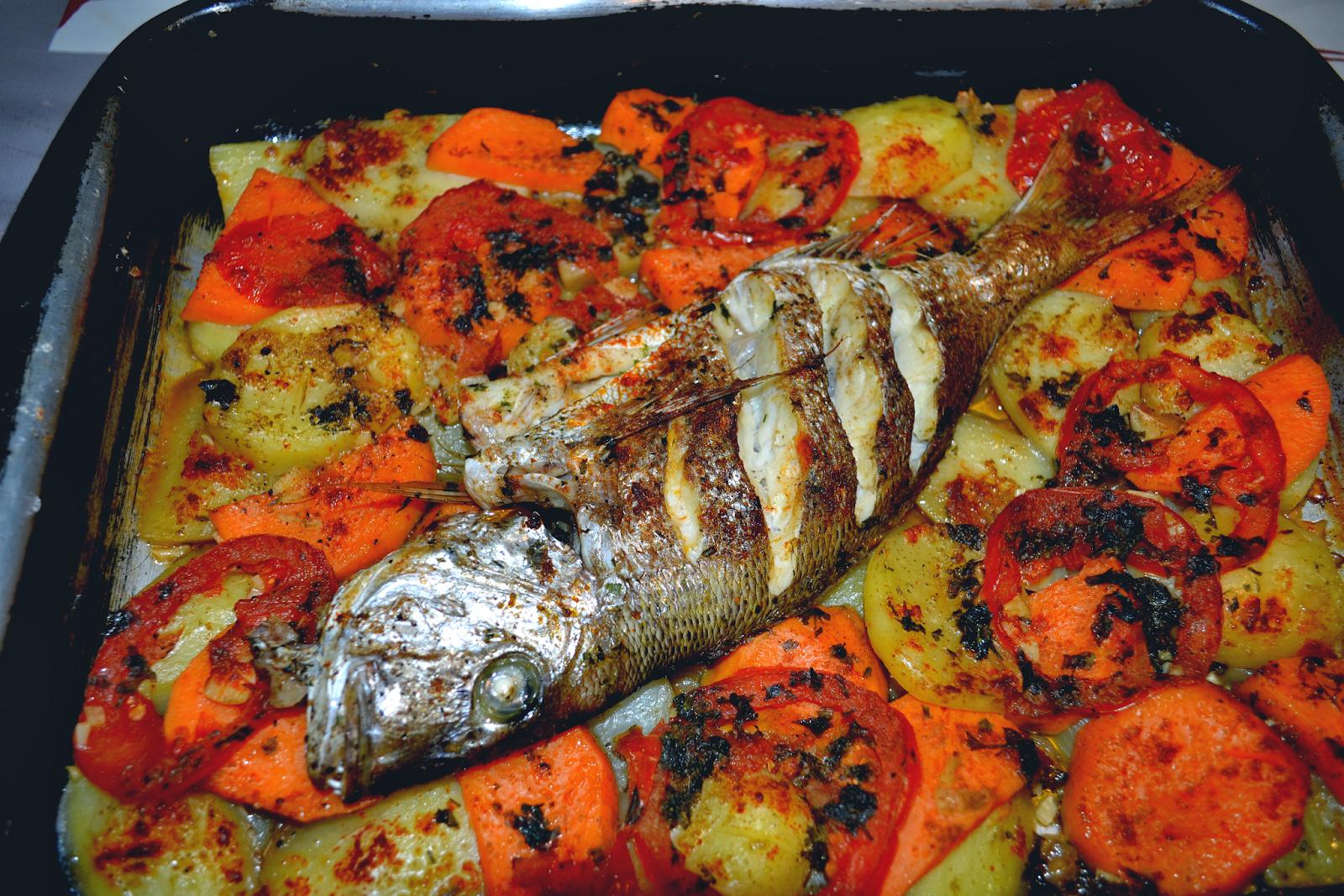 Delicias De Marruecos  Cocina Bereber  Tajine De Pescado O