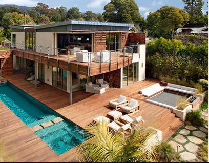 Fotos de terrazas terrazas y jardines terrazas de casas for Casas con terrazas minimalistas
