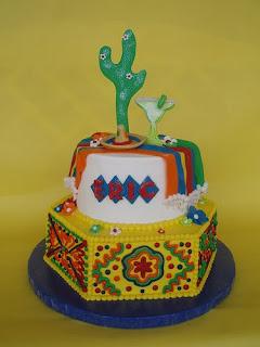 Perfect Fiesta Birthday Cake