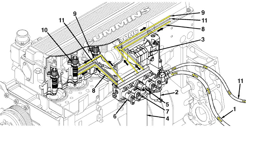 m11 mins engine fan belt routing diagrams  m11  free