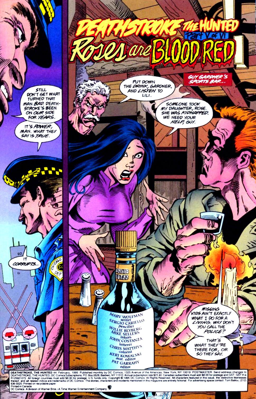 Deathstroke (1991) Issue #44 #49 - English 4
