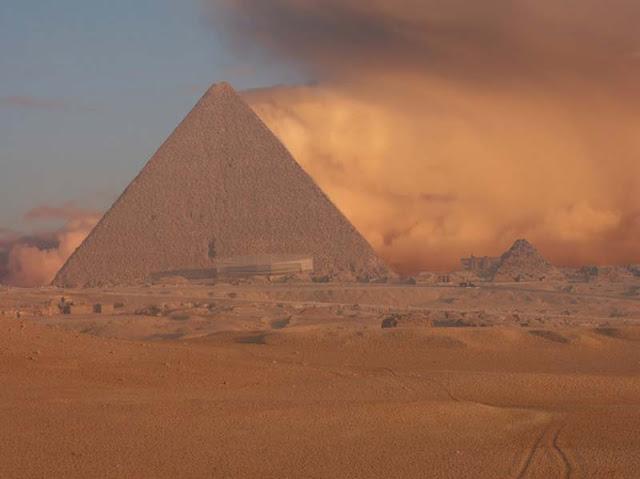 Maravillas de la naturaleza: Tormentas de arena.