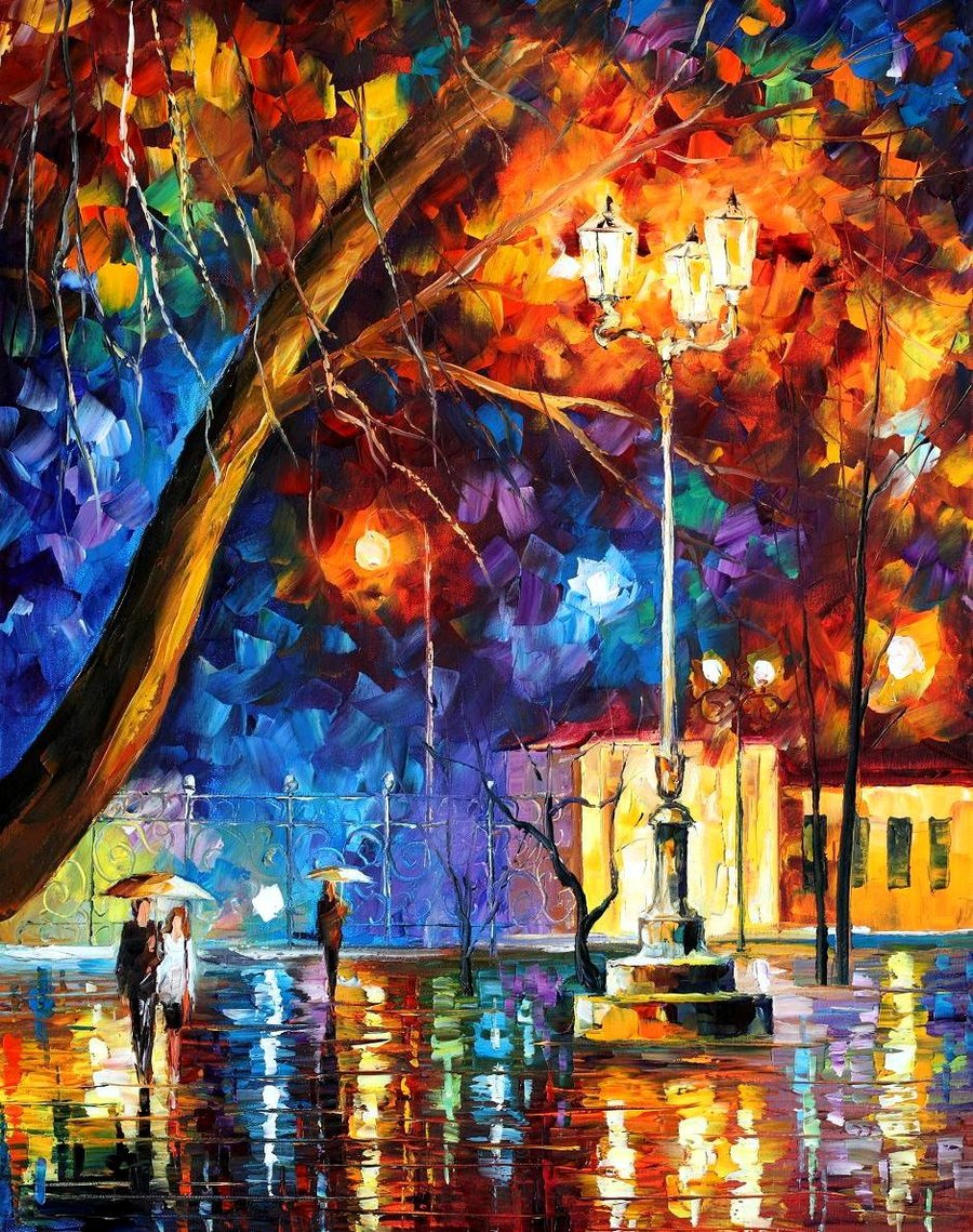 marks space the painted cityscapes of leonid afremov