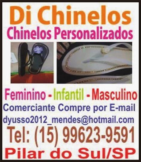 chinelos personalizados Pilar do Sul