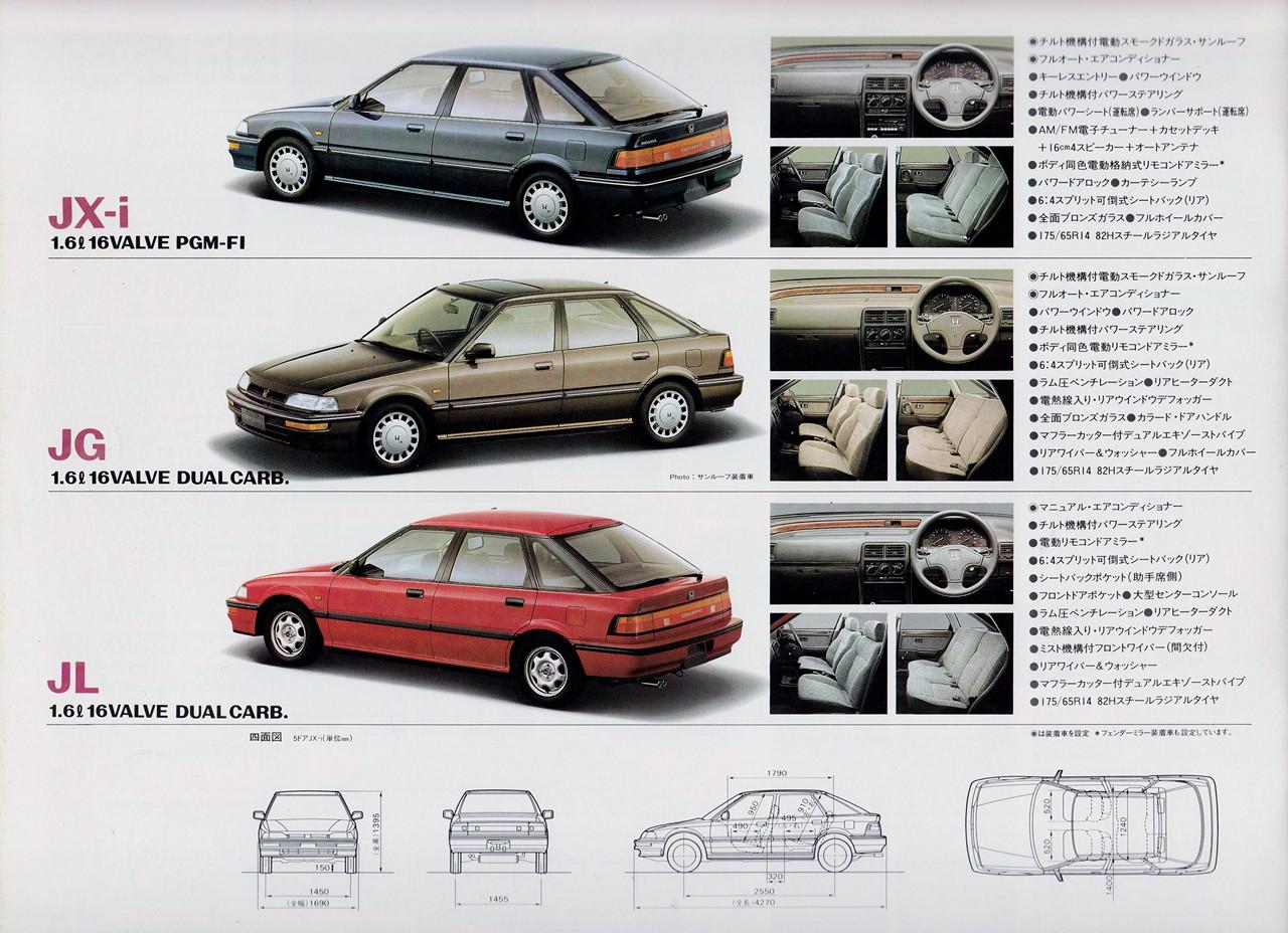 Honda Concerto, liftback, japońska motoryzacja
