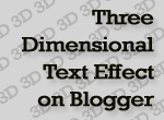 3d-text-effect-blogger