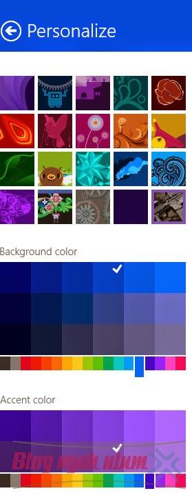 Cara mengganti background start screen windows 8.1
