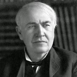 Thomas Alva Edison (1847-1931), Científicos famosos