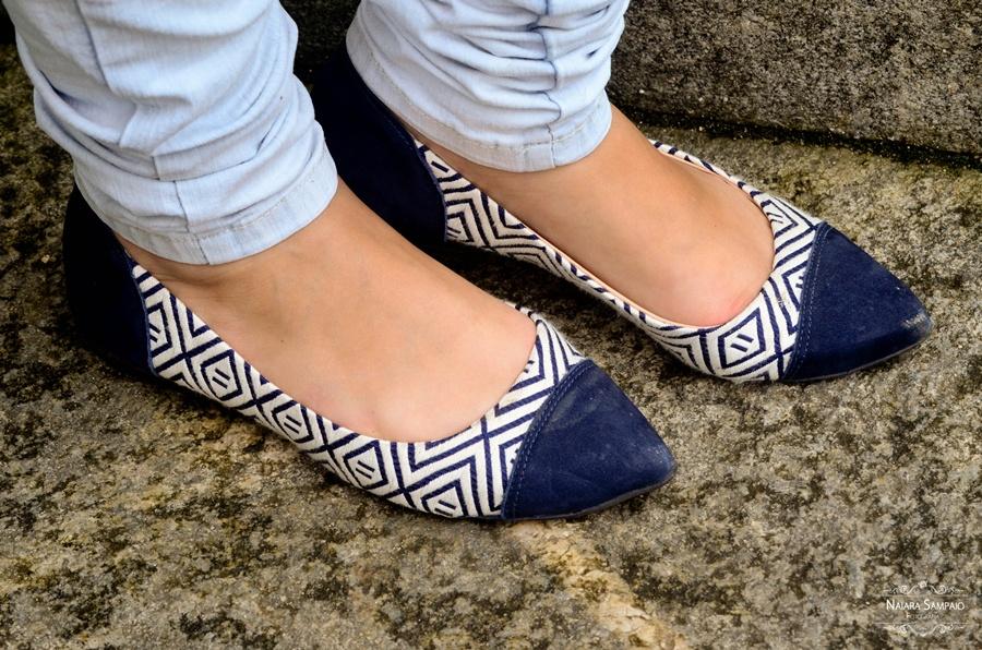 Look do dia - Ciganinha e Jeans sapatilha