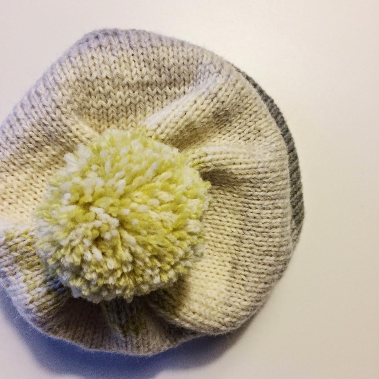 Bobs beanie - easy knitting pattern free