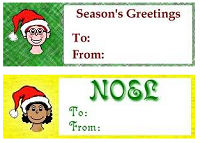 Image: Christmas Gift Tags