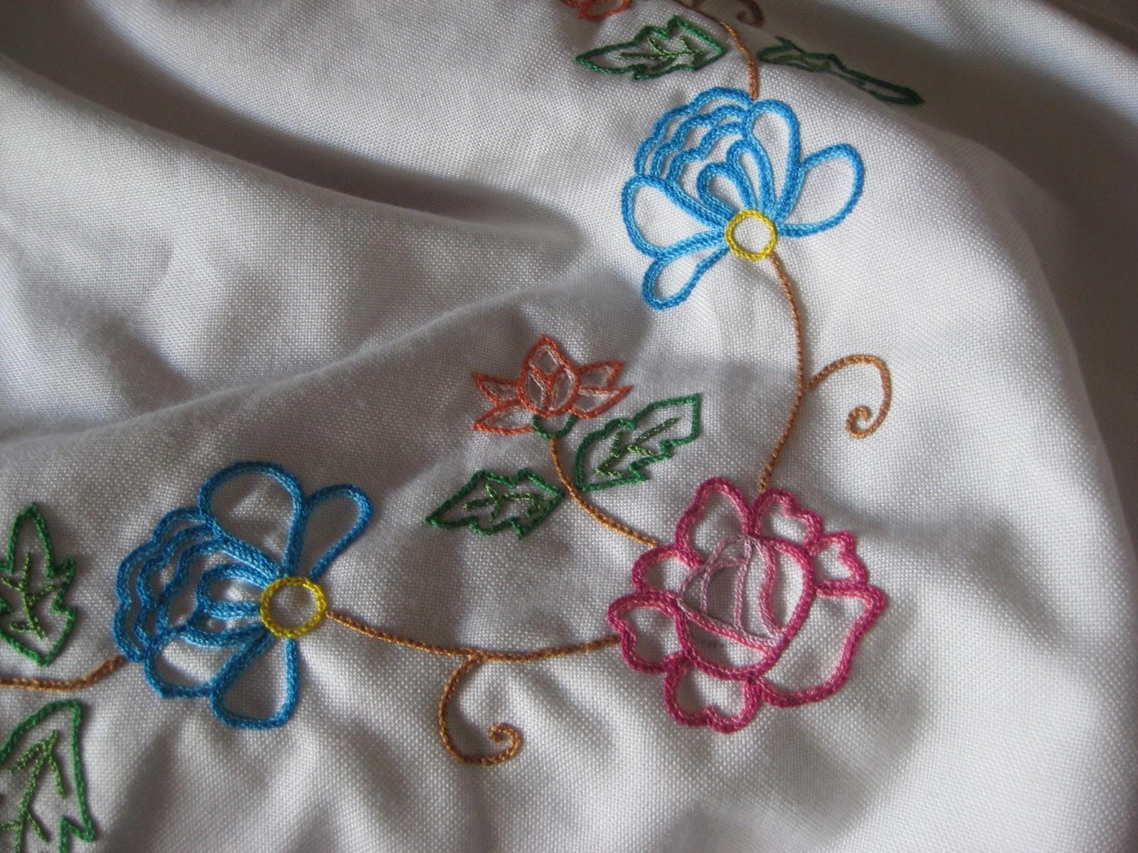 Con arte en las manos manteles - Manteles bordados ...