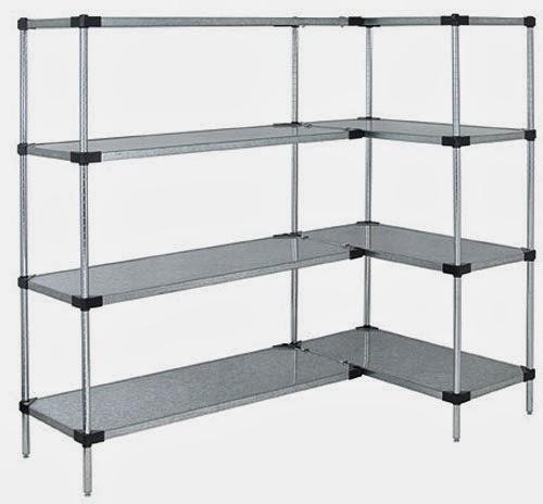 stainless steel shelving units images. Black Bedroom Furniture Sets. Home Design Ideas