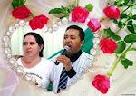 Euzinha e Ecimar Santos, meu esposo