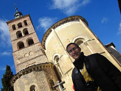 Beautiful romanesque church in Segovia