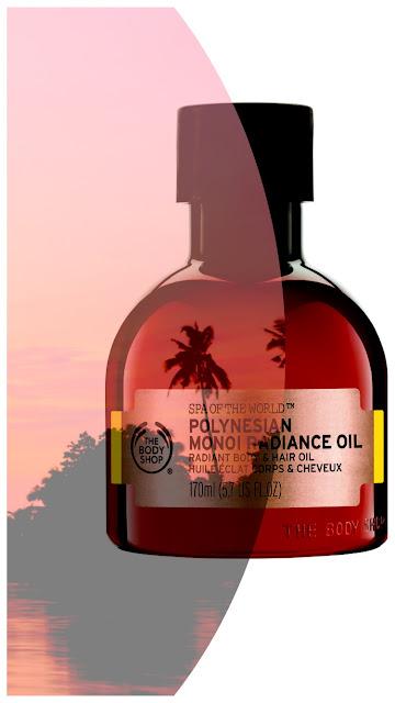 The Body Shop Monoi Polynésie