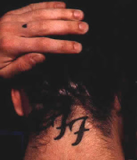 Dave Grohl Tattoo Pictures - Male Celebrity Tattoo Ideas