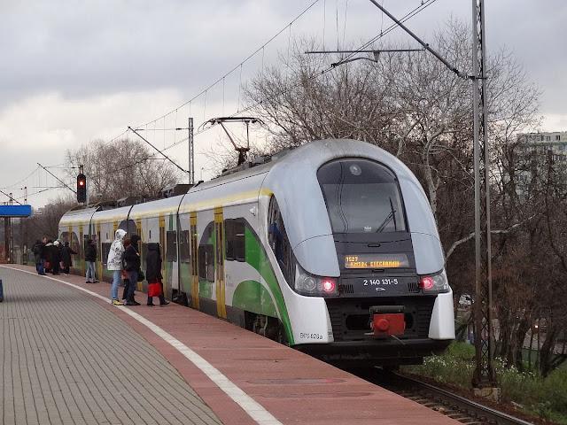 EN76-020 na PKP Warszawa Zoo