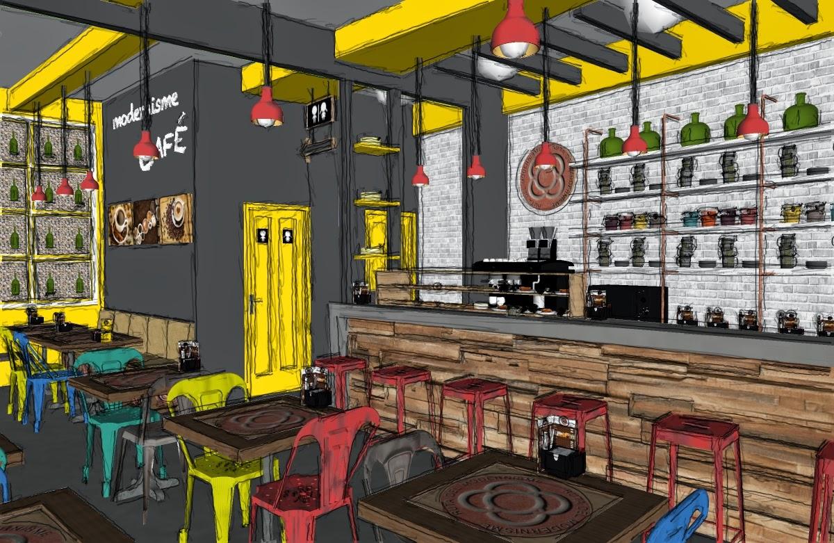 Alexandra Proa O 3d Cafeter A Modernisme Barcelona