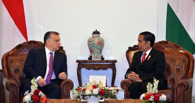 Presiden Jokowi Terima PM Hungaria - RI dan Hungaria akan Kerja Sama Membangun Smart City