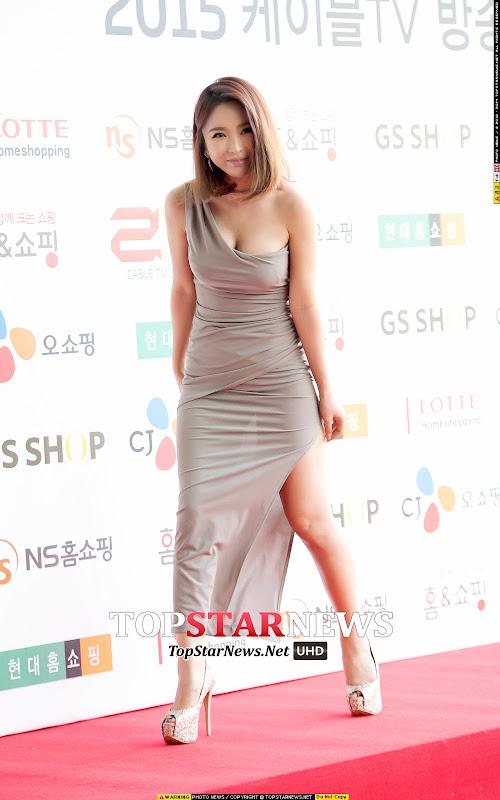 홍진영 2015 케이블TV방송대상