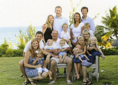 familia ted wilson