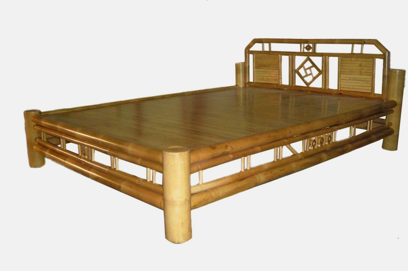 =%#Bamboo King&Queen Bed-Adorn natural & tropical bedroom w/ a bamboo bed(beautiful&sustainable  bed-King size& Queen size)-DIY &