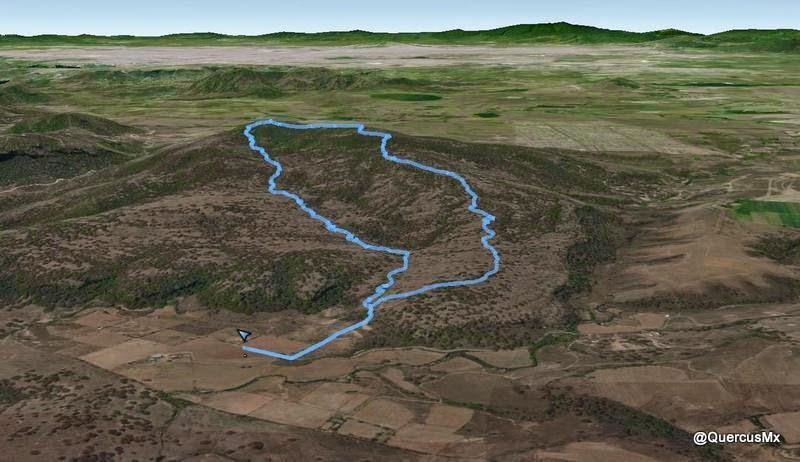 Recorrido en el Cerro Jacal de Piedra